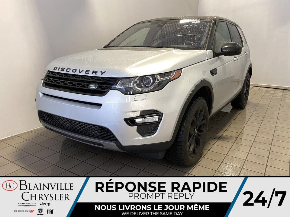Land Rover DISCOVERY Sport HSE AWD * APPLE CARPLAY * TOIT PANO * CAM REC 2017