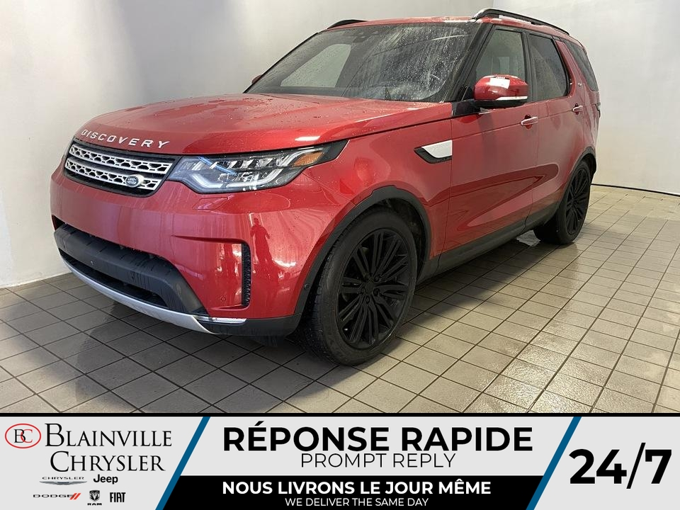 Land Rover Discovery HSE Luxury* DIESEL * 7 PASSAGER * CRUISE ADAP 2017