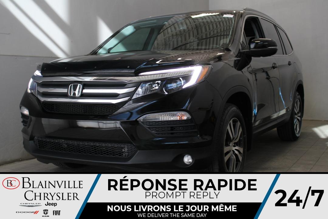 Honda Pilot 2018 EX-L * CUIR * GPS * 7 PASSAGERS * SIEGES CHAU