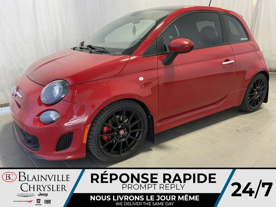 Fiat 500 TURBO * SIEGES ABARTH * 150HP * BLUETOOTH * A 2013