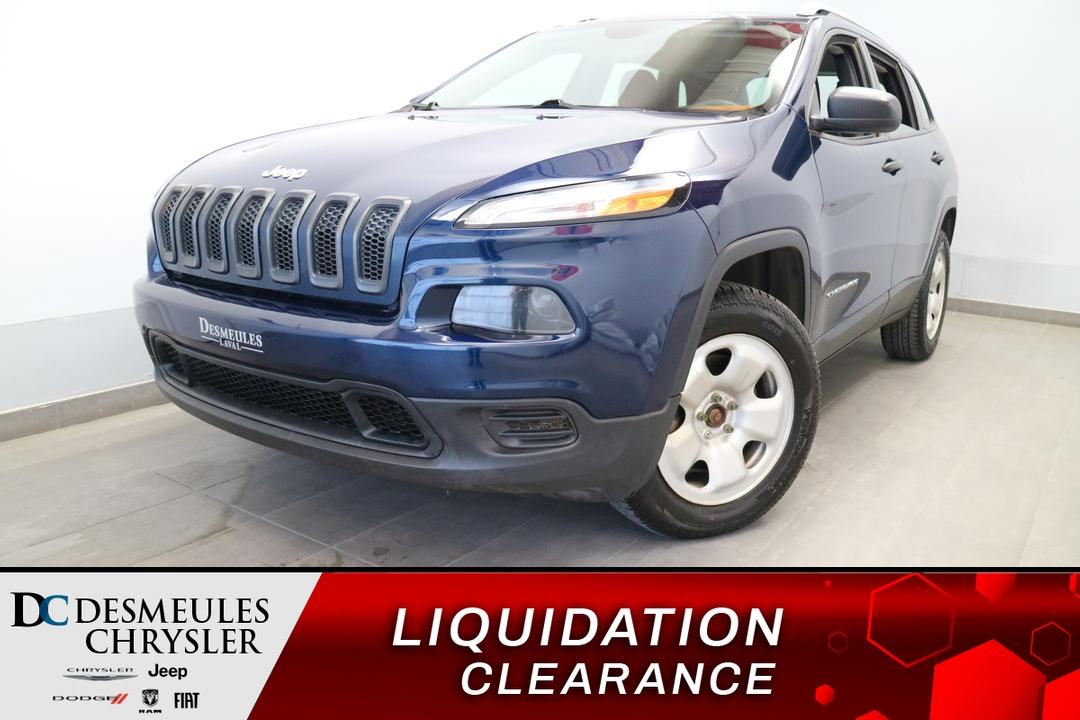 Jeep Cherokee 2018 Sport AWD * UCONNECT * CAM DE RECUL * CRUISE