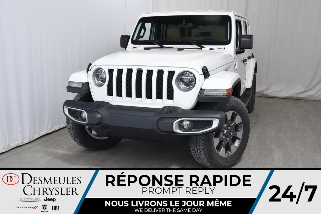 Jeep Wrangler Sahara Unlimited  A/C MULTI + BLUETOOTH*141$/ 2019