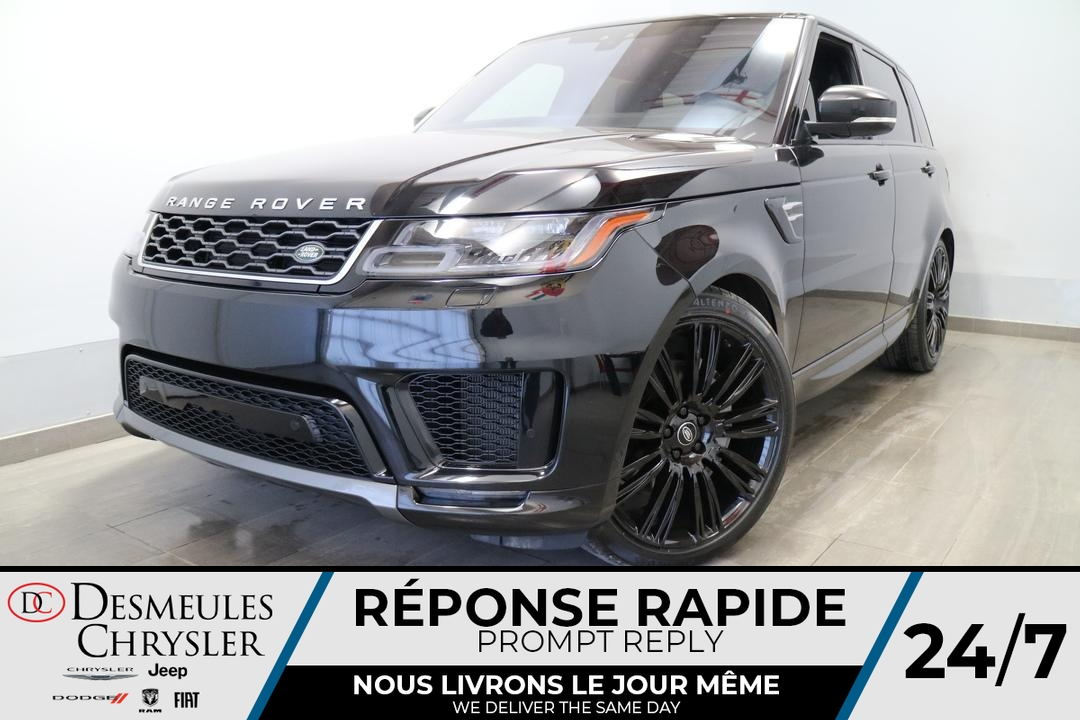 Land Rover Range Rover HSE SUPERCHARGED AWD * NAVIGATION * TOIT PANO 2018