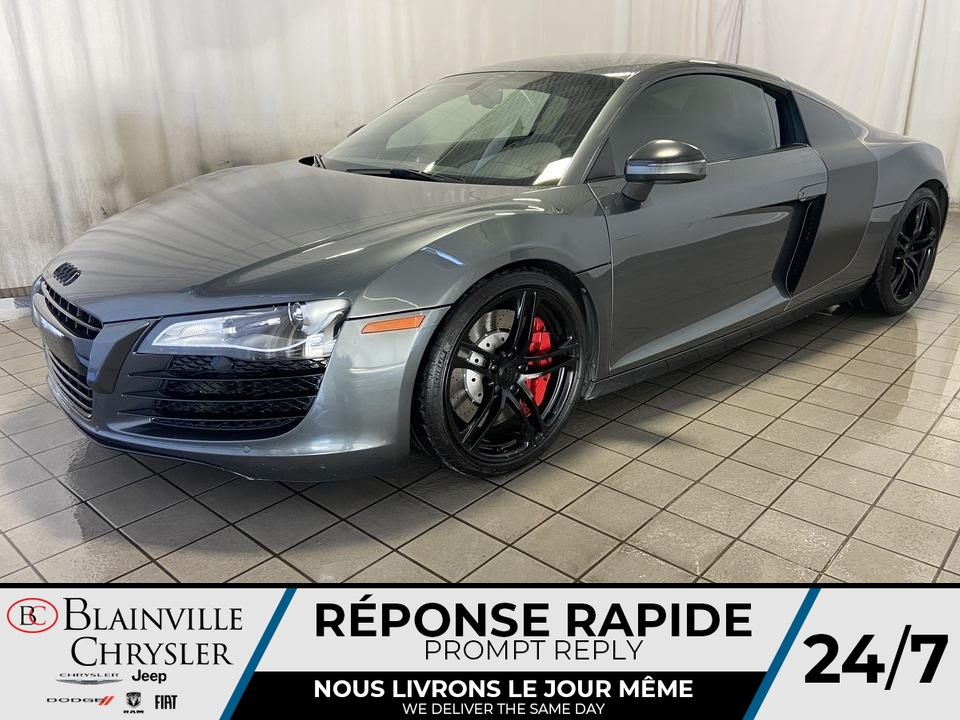 Audi R8 4.2L * MANUEL * SUSPENSION NEUVE * NAV * 2009