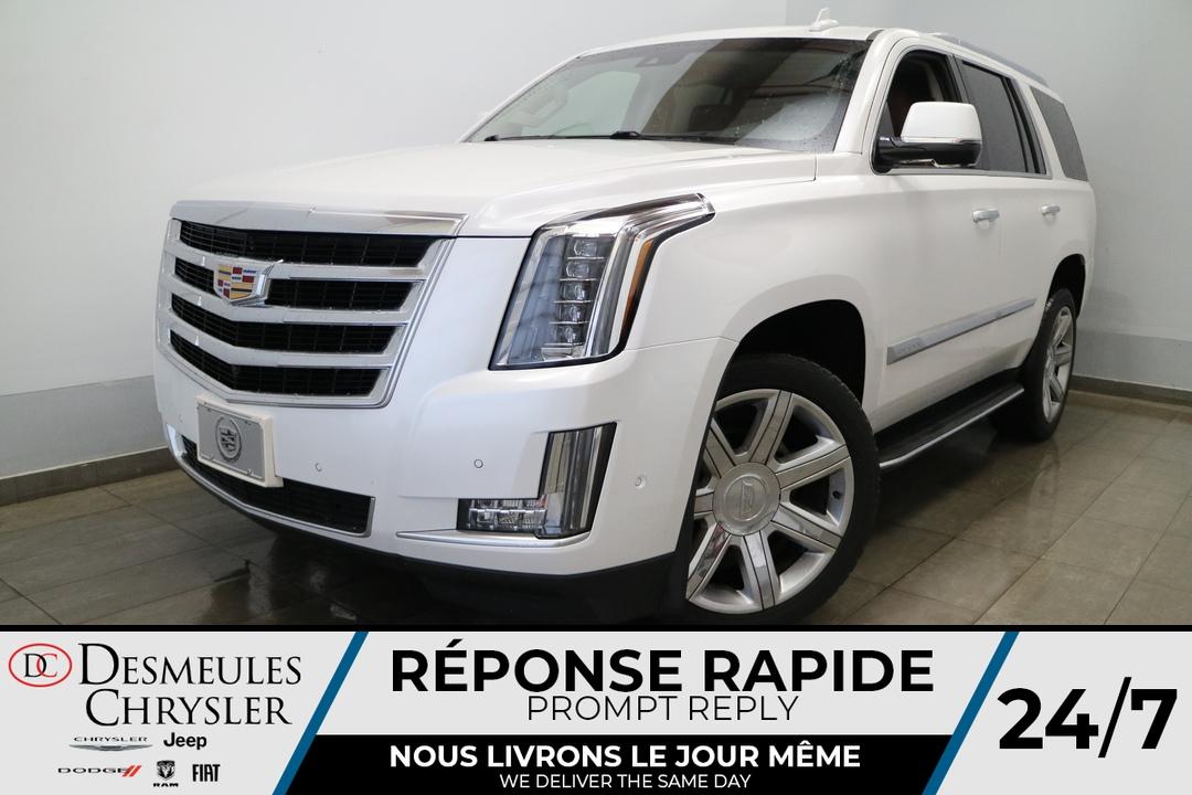 Cadillac Escalade 2018 Luxury 4WD * NAVIGATION *CAMERA DE RECUL ET D