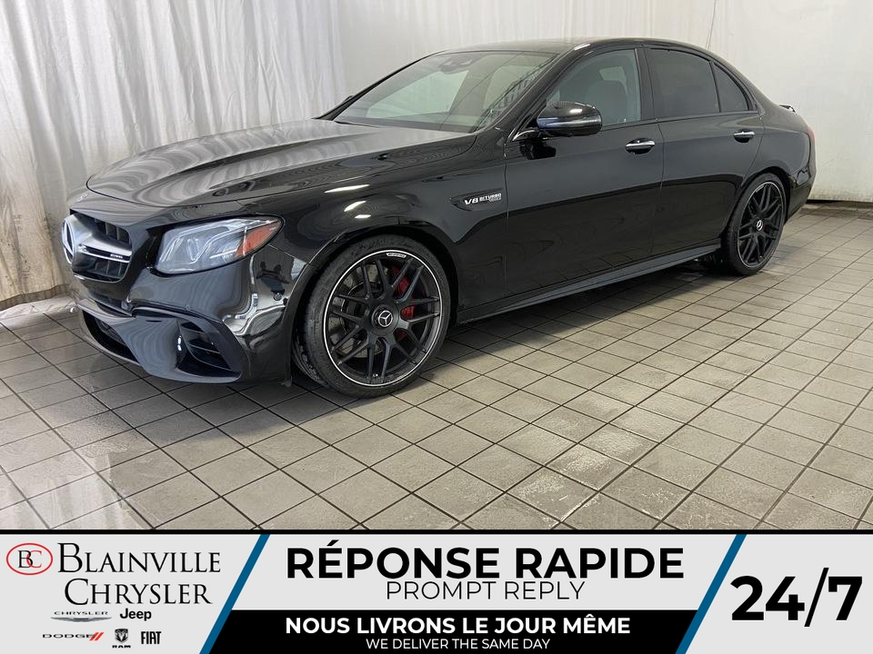 Mercedes-Benz E-Class AMG E 63 S * AMG NIGHT PACKAGE * AMG DRIVER 2018