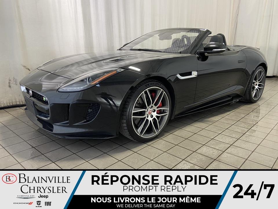 Jaguar F-TYPE R * AWD * SPORT PACK EXHAUST * NAV * CAM RECU 2017