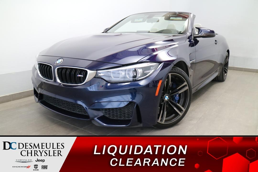 BMW Série 4 M 2018 M4 DECAPOTABLE * NAVIGATION * CAMERA DE RECUL
