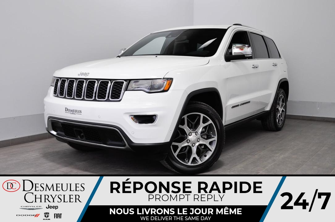 Jeep Grand Cherokee Limited  + BANCS CHAUFF + UCONNECT DÉMONSTRAT 2019