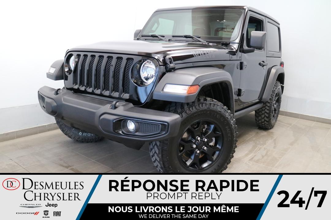 Jeep Wrangler 2021 WILLYS 4X4 * UCONNECT * CAMERA DE RECUL * CRU