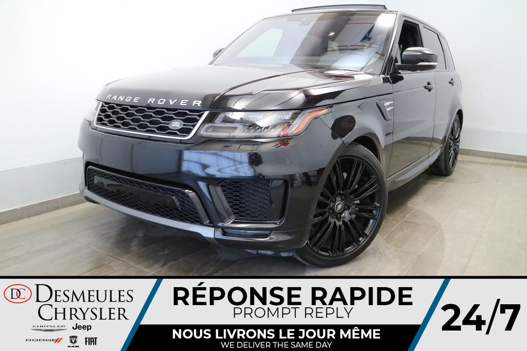 2018 Land Rover Range Rover HSE SUPERCHARGED AWD * NAVIGATION * TOIT PANO